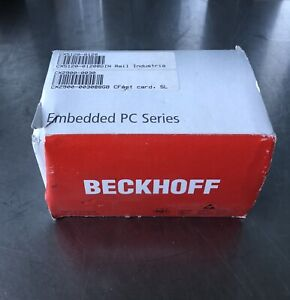 Beckhoff Cx5120 0120 Embedded Pc W Cx2900 0030 8gb Fast Card New Free Shipping