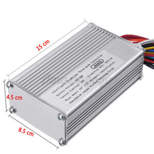 High Power Electric Dc 36 48v 600 1000w Brushless Dc Motor Speed Controller Hall