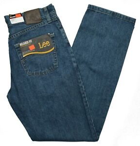 Lee #10366 NEW Men#x27;s Relaxed Fit Straight Leg 100% Cotton Newman Jeans $19.99