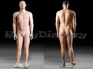 Realistic Male Mannequin With Molded Hair mz mik04