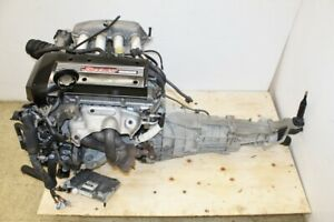 Jdm Toyota Altezza 3s Ge Engine 6 Speed Rwd Transmission Is300 Sex10 2 0 Beams
