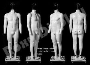 Plus Size Male Invisible Ghost Mannequin mz gh25