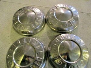 1961 Mopar Plymouth Dog Dish Poverty Hubcaps Wall Hanger 10 Rat Rod
