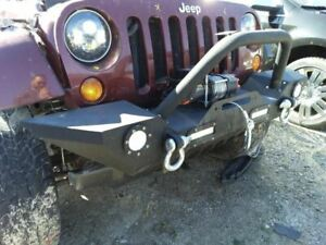 2007 Jeep Wrangler Jk Stinger Front Bumper With Winch