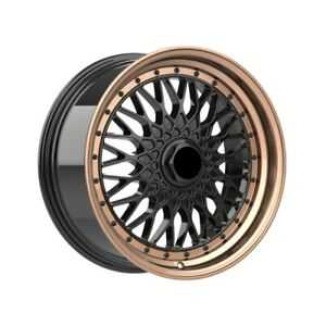 4 Wheels 18 Inch Bronze Rims Fits 5x114 3 Honda Civic Sedan 2012