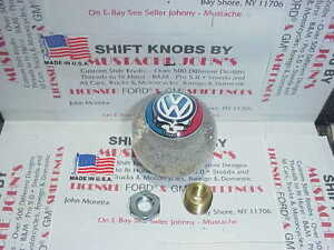 Vw Grateful Dead Steal Your Face Custom Shift Knob 2 1 8 Clear Glitter