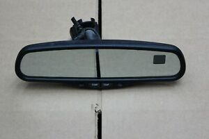 Gm Chevrolet Rear View Mirror Gntx 177 Tahoe Gmc Oem 010103 Dual Temp Compass