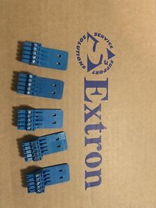 Lot Of 5 Extron 5 Pin Phoenix Block