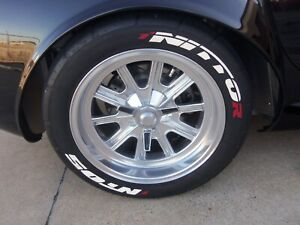 255 40 17 Nitto Nt05 Radials With Permanent Tire Stickers 2 New Car Takeoffs