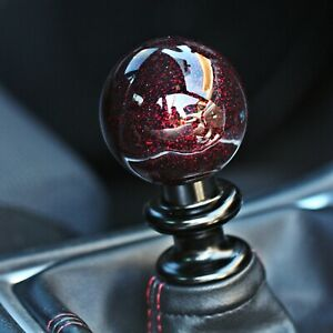 Ssco Metallic Red Sr 55mm 610 Grams Weighted Shift Knob Shifter Sphere