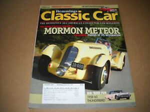 Hemmings Classic Car Magazine December 2007 1958 1959 1960 T bird Morman