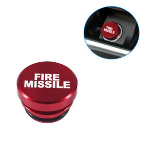 Car Fire Missile Eject Button Car Cigarette Lighter Cover 12v Replacement Decor