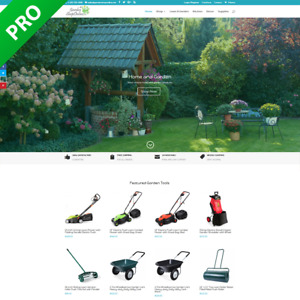 Home And Garden Dropshipping Store Turnkey Dropship Business Website