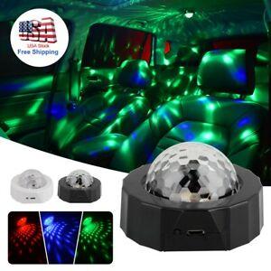 Led Car Interior Accessories Floor Decorative Atmosphere Lamp Projector Lights