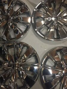 4 new 2006 2007 2008 2009 2010 2011 Toyota Yaris Hub Caps Hubcap Wheel Cover 15