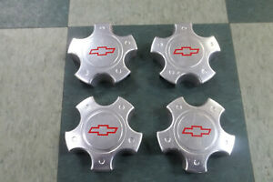 2000 01 02 Chevrolet Camaro Ss 10 spoke Wheel Center Caps Set Of 4 9593611