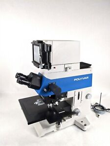 Reichert jung 300604 Polyvar Industrial Scientific Laboratory Microscope W Lens
