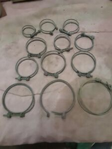 Vintage Tractor Radiator Wire Hose Clamps John Deere Farmall Ih Case Oliver Ford