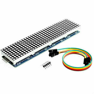 Dot Matrix Module Max7219 Microcontroller Display Accessories N0k4 D5t9 V2j7