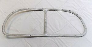 1937 1938 1939 1940 Ford Coupe Rear Window Garnish Molding