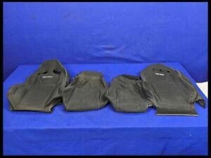 2015 2020 Ford Mustang Gt Ecoboost Front Cloth Recaro Seat Cover Skin Set Oem