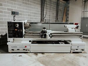 Used Clausing Colchester Mastiff 600 Series Engine Lathe 21 X 80