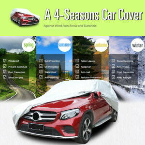 Car Full Cover Fitted Suv Indoor Outdoor Water Proof Rain Snow Sun Dust 6 Layer
