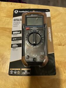 Southwire Electrical Digital Multimeter Manual Ranging Ac dc 7 Function 10031s
