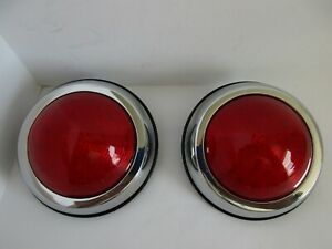 Led 1950 Pontiac Tail Lights Hot Rod Universal 50 Pontiac Custom Stl1006led