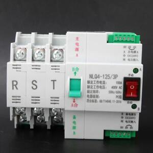 Dual Automatic Transfer Switch Toggle Switch Pc Level 100a Ac 400v 3p 100a