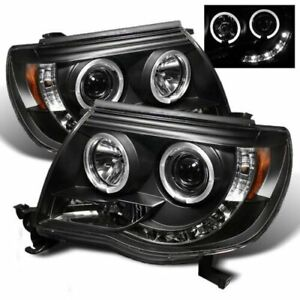 Halogen Led Projector Headlights For 2005 2011 Toyota Tacoma Pre Runner X Runner
