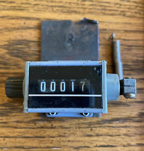 Redington 5 Digit Counter With Lever Arm