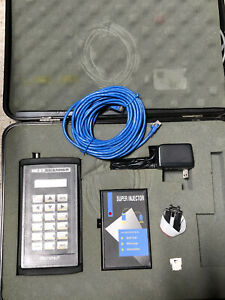 Microtest Next Handheld Cable Tester Scanner Super Injector Case Pn 8050 00