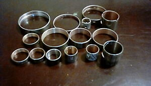 Ford Aode 4r70w Complete Bushing Kit 15 Piece 90 Up With Stamped Steel Drums