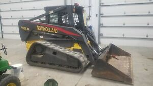 2004 New Holland Lt185b Track Loader Skid Steer Skid Loader