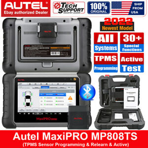 Autel Mp808ts Auto Diagnostic Scanner Obd2 Bluetooth Ecu Coding Tpms Programming