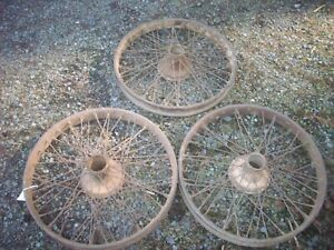 Antique Accessory 23 Wire Wheels Model T Houk Hayes Buffalo Brass Era Speedster