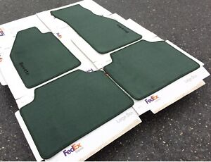 Fit For Compatible With Old Kfer Beetle Floor Mats Carpet Green 4pcs 1950 78