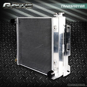 Aluminum Radiator For Jeep Wrangler Tj Yj V8 Conversion 1987 95 1997 2002