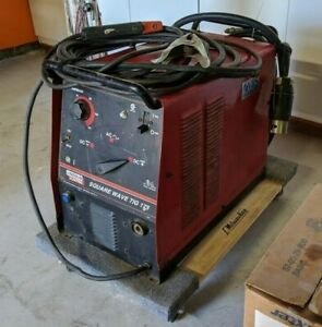 Lincoln Square Wave Tig 175 Welder Used