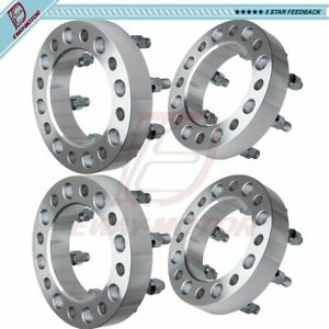 8x6 5 1 5 Inch Fits Dodge Ram 2500 3500 Ford F 250 F 350 Chevy 4 Wheel Spacers
