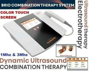 Brio Ultrasound Therapy Interferential Therapy Color Touch Combo Electrotherapy