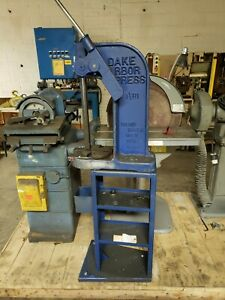 Dake Arbor Press 1 1 2b 3 Ton Capacitywith Heavy Duty Stand