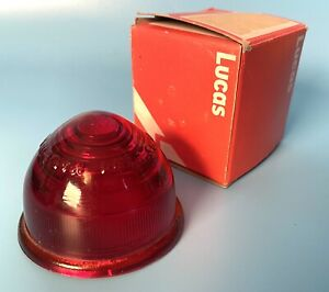 Lucas Vintage L594 Red Glass Lens 1 Beehive Design