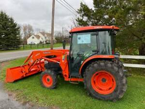 Kubota L4240 Hstc Full Options Cab 4x4 Hydrostatic Tractor With Only 530 Hours