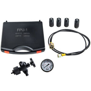 Hydraulic Accumulator Nitrogen Charging Pressure Test Diagnostic Tool Set
