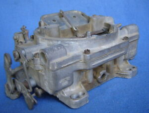 Vintage Carter Afb 9625sa C2 4 Barrel Carburetor Chevy Corvette Gto 1962 1971
