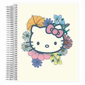 Hello Kitty X Erin Condren Coiled Notebook Dot Grid Page Layout Hello Kitty