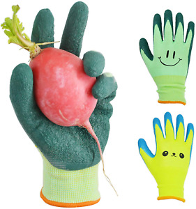 Glosav Kids Gardening Gloves For Ages 2 12 Toddlers Youth Girls Boys Childre
