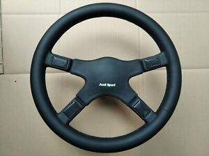 Italvolanti Audi Sport Leather Steering Wheel Audi 80 90 100 Coupe Quattro